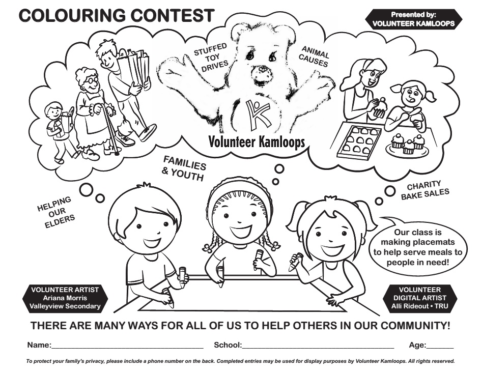 Colouring Contest - Page - 01
